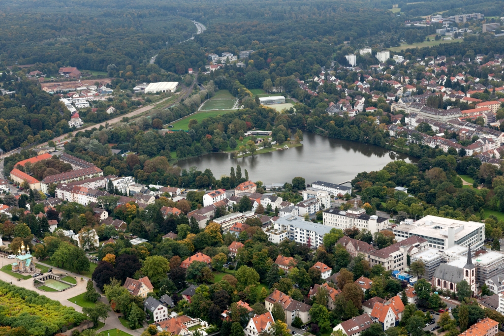 aerial photo Darmstadt (Ralf Zerbe)
